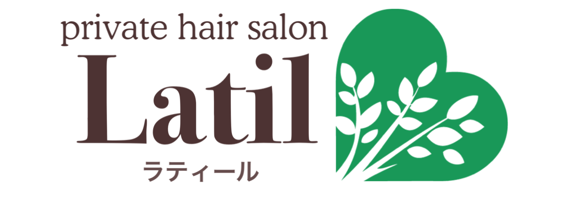 岡山市南区の美容室ラティール(Latil)のロゴ